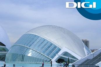 La fibra de DIGI llega a Valencia.