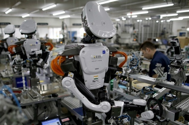 Fábrica de robots.
