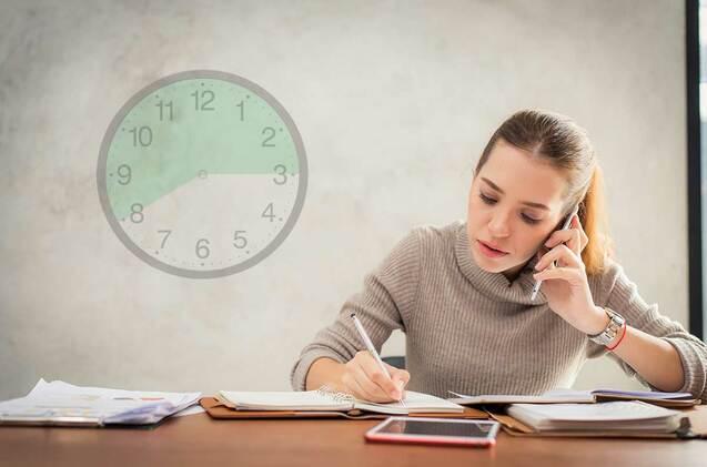 Los expertos recomiendan reducir la jornada laboral