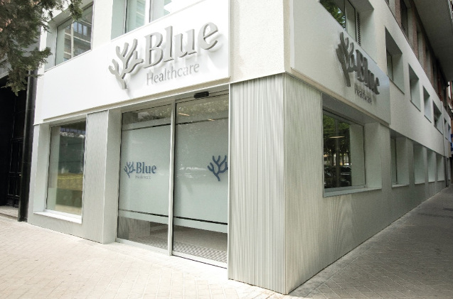 Clínica de Blue Healthcare.