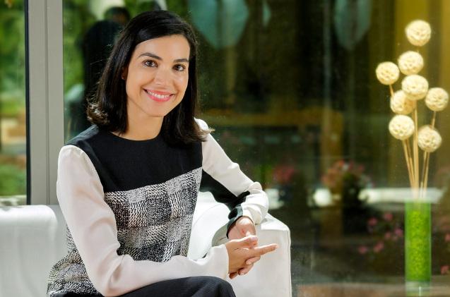 Carolina Castillo, de Microsoft.