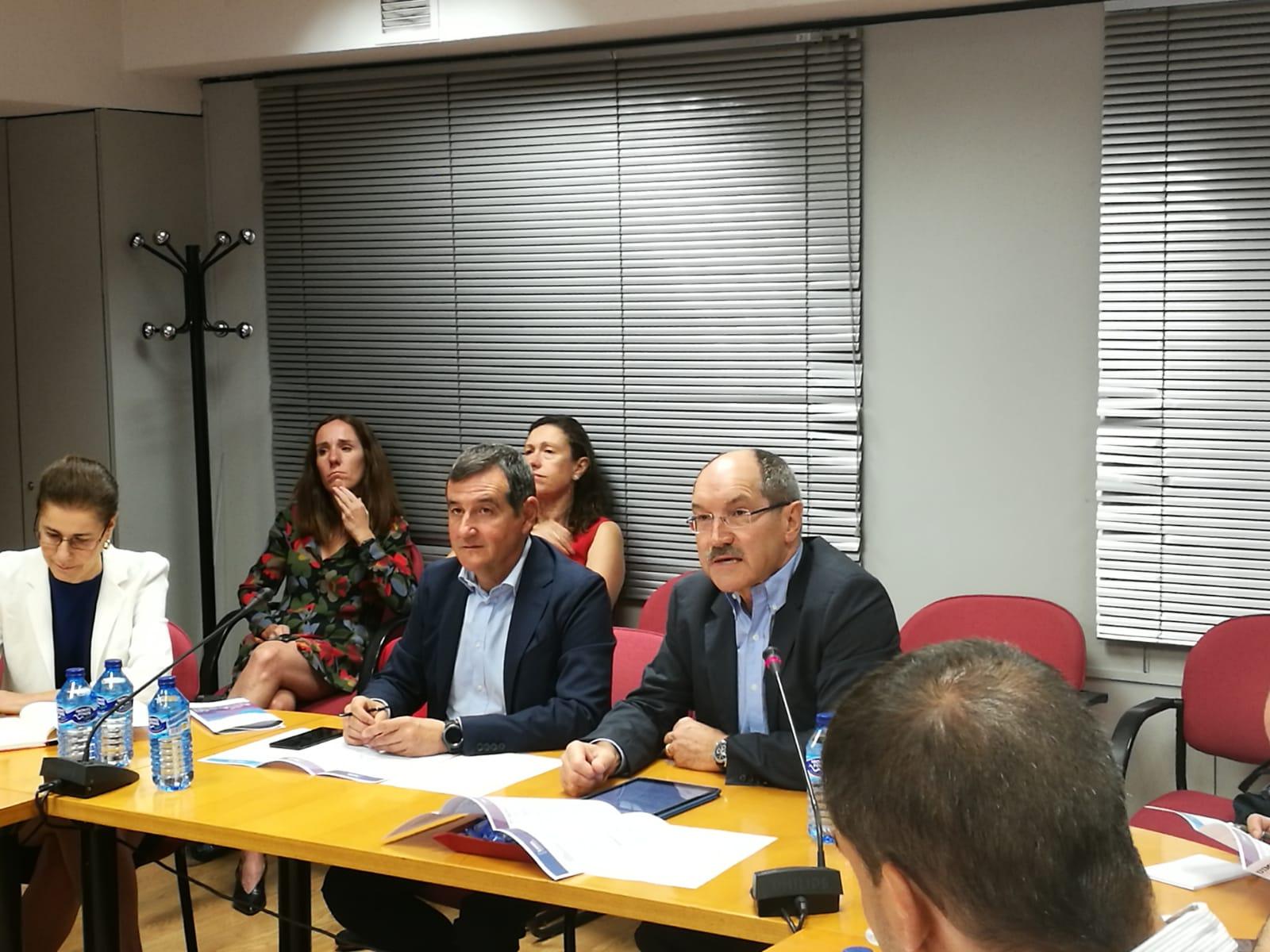 Francisco Hortigüela, Director General de Ametic, y Pedro Mier, Presidente de Ametic.