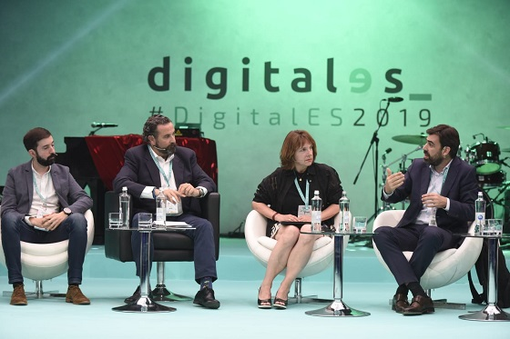 Mesa de debate sobre IA en DigitalES Summit 2019.