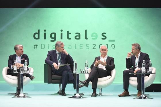 """Antonio Coimbra, presidente de Vodafone, reivindicó el papel de los operadores como """"motor de transformación digital""""."""