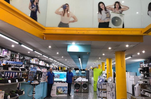 Tienda de electrodomésticos Electroking, de la cadena Miró.
