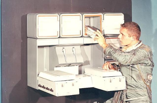 Cocina Whirlpool del Apolo 11.