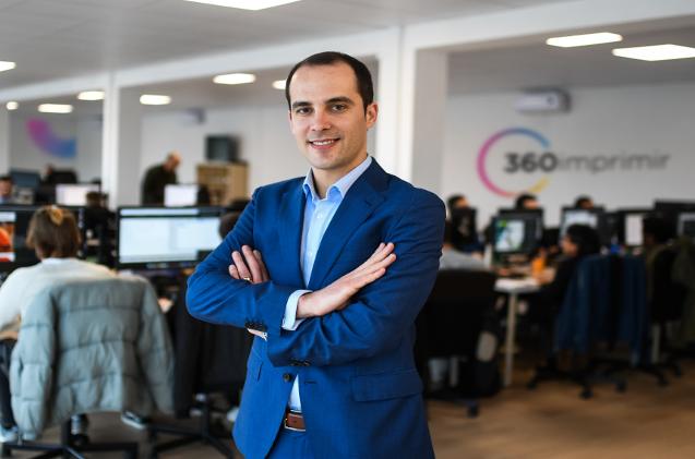 Sérgio Vieira, CEO de 360imprimir