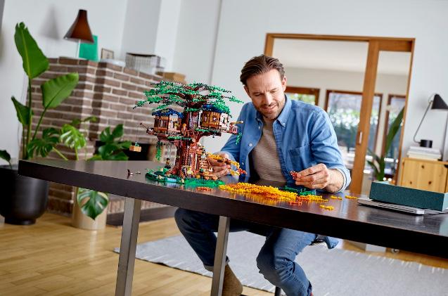 Los nuevos Legos están construidos con materiales sostenibles.
