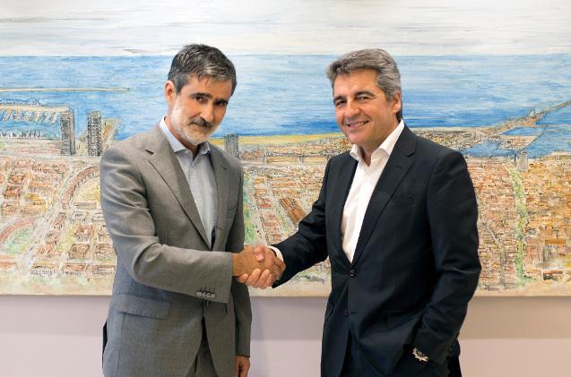 Xavier Cortés, hasta ahora Consejero de IPM y TotalStor, y Ramon Martin, CEO de Ricoh España y Portugal.