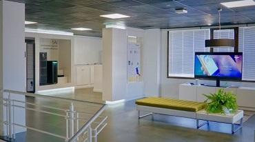 oficinas renovadas de Legrand en Torrejón de Ardoz