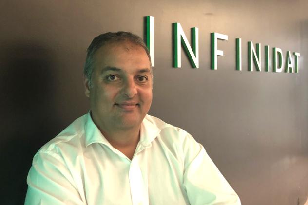 Daniel Cruz, de Infinidat.