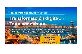 Foro Barcelona. Primero del Tour Tecnológico Aslan.