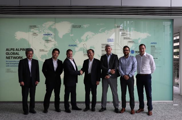 Sigfox y Alps Alpine firman un acuerdo global en I+D+i en Internet de las cosas.