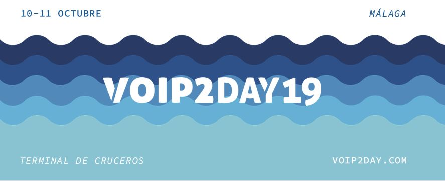 VoIP 2 Day 2019 anuncia su programa de conferencias.