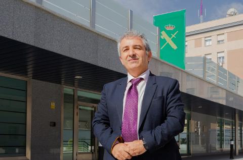 Enrique Ávila, Experto de Ciberseguridad de la Guardia Civil.