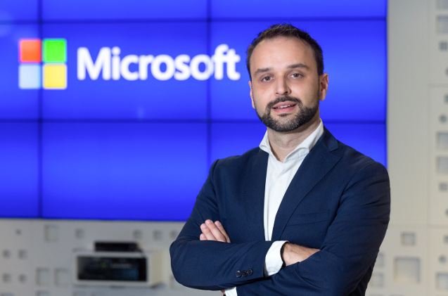 Miguel Ángel Cervera, de Microsoft.