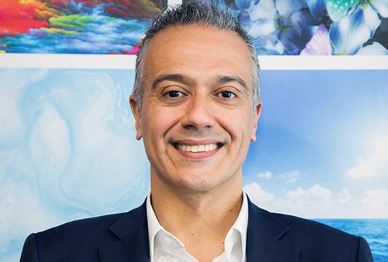 Nick Lazaridis, exjefe de HP en EMEA.