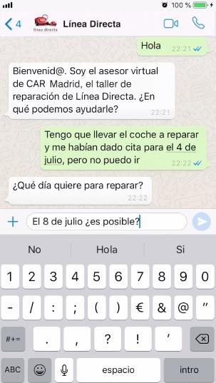 Línea Directa wasap
