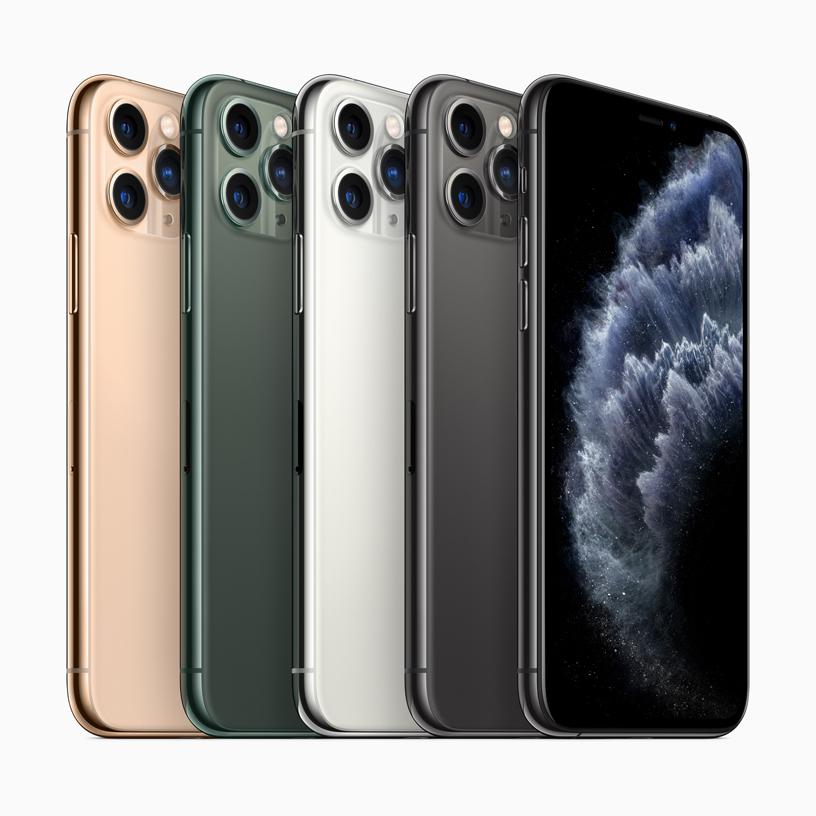 iPhone 11 Pro e iPhone 11 Pro Max