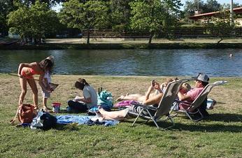 Las piscinas naturales del rio Nela en Villarcayo (Burgos), ya disfrutan de Wi-Fi gratuito.
