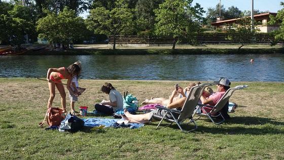 Las piscinas naturales del río Nela en Villarcayo (Burgos) ya disfrutan de Wi-Fi gratis.
