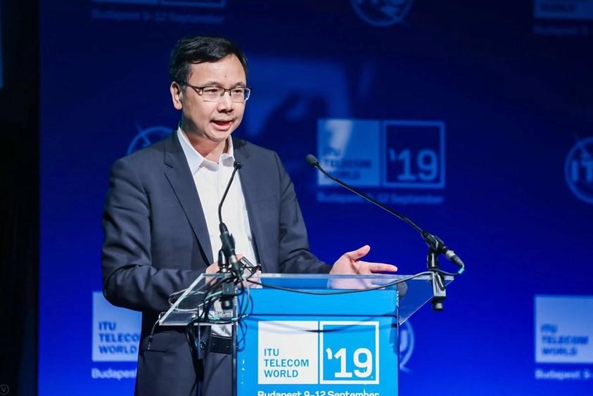 Yang Chaobin, presidente de la línea de productos 5G de Huawei.