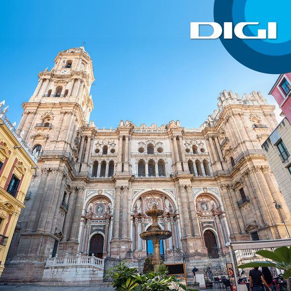 Digi lleva su servicio de fibra a Málaga.