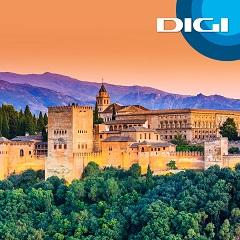Digi ofrece su fibra en Granada.