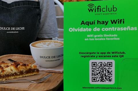 Wi-Fi Premium en el punto de venta.