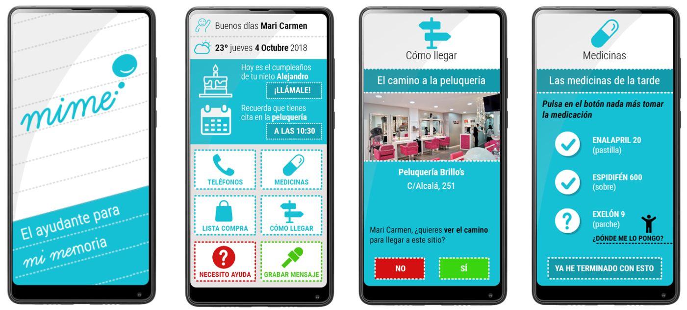 Aplicación MiMe de Ibermática.