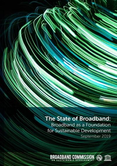 El Estado de la banda ancha 2019: la banda ancha como base para el desarrollo sostenible