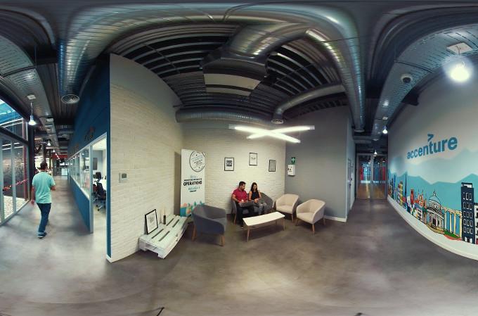 Centro de activación de experiencias de Accenture en Málaga.