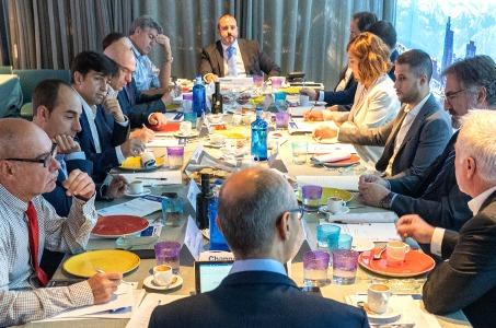 Aspecto del debate sobre sostenibilidad en el mercado de impresión, organizado por CHANNEL PARTNER.