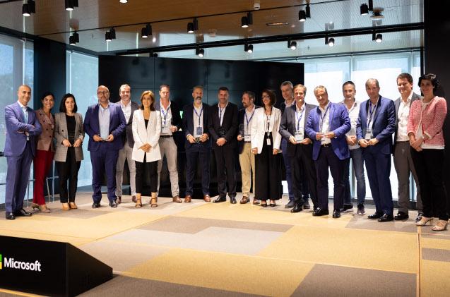 Empresas premiadas en el Partners Day 2019 de Microsoft.
