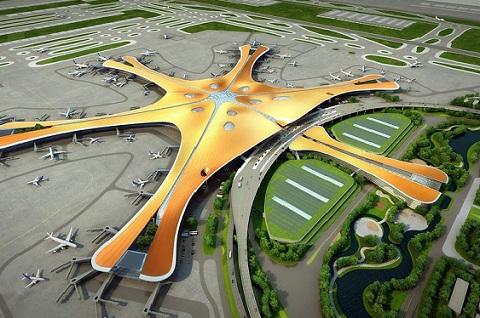 El Aeropuerto Internacional de Beijing Daxing se digitaliza.