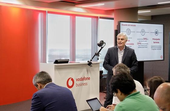 Rueda de prensa de presentación de Vodafone Conectividad Aumentada