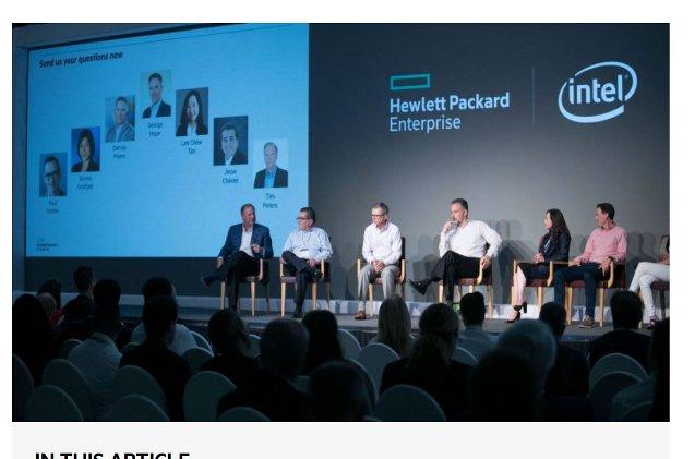 Conferencia de partners HPE 2019