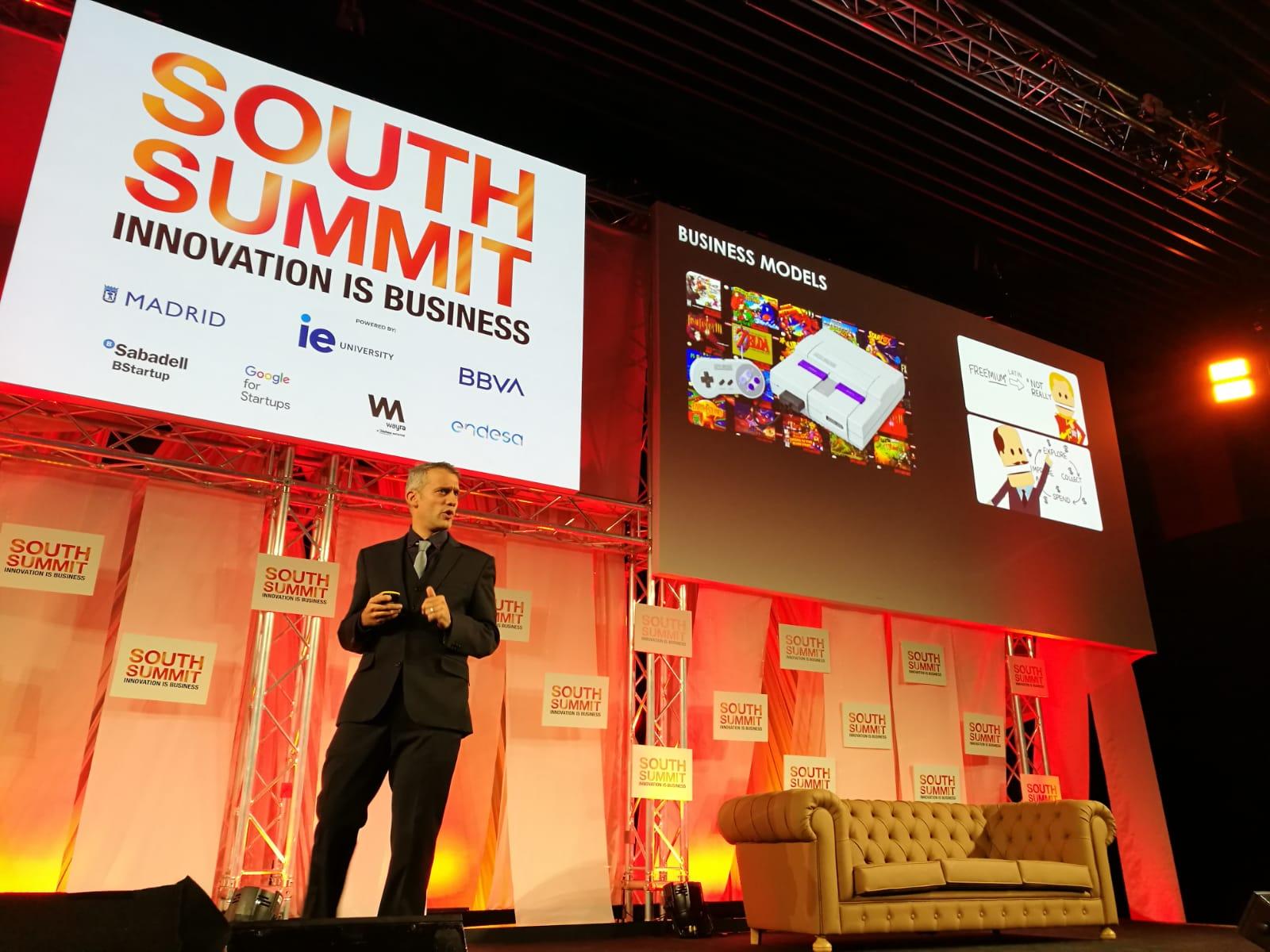 Jaime Gonzalo, Vicepresidente de Huawei Mobile Services en Europa, en el South Summit 2019.