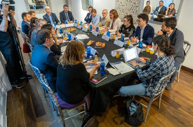 Plano general desayuno educación CHANNEL PARTNER septiembre 2019
