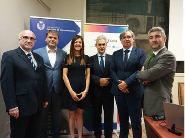 Institut Cerdà y COIT celebran en Madrid una jornada sobre el impacto de la implantación del 5G.
