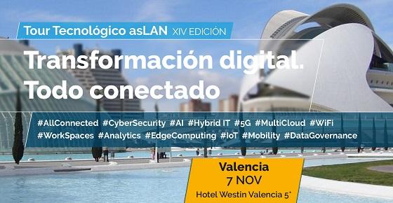 Valencia, cuarta parada del Foro Tecnológico Aslan 2019.
