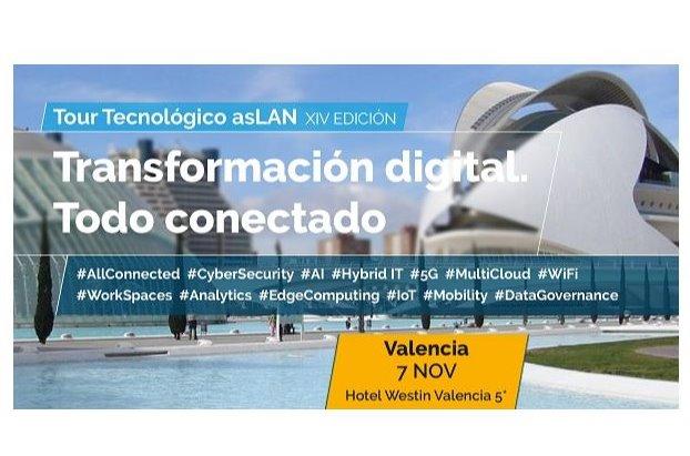 Valencia, cuarta parada del Tour Tecnológico Aslan.