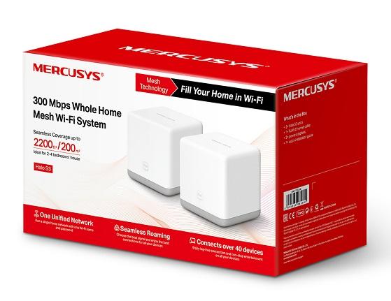 Sistema Halo S3,Wi-Fi en malla de Mercusys