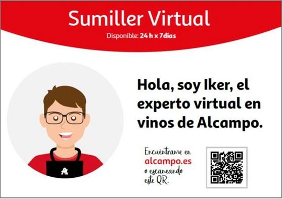El sumiller virtual de Alcampo
