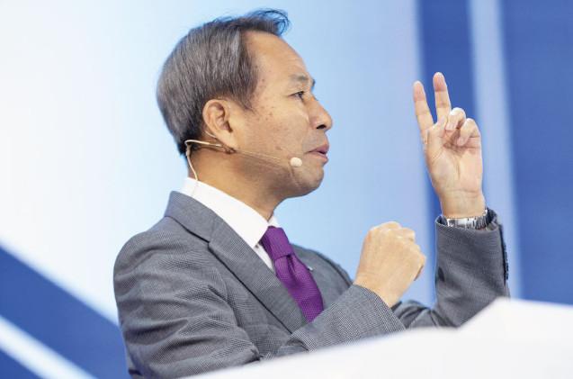 Yoei Yamana, CEO de Konica Minolta.