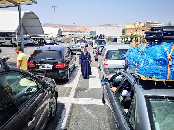 Wi-Fi gratuito en la Operación Paso del Estrecho en Almería