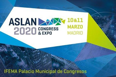 Congreso ASLAN2020: 10 y 11 de marzo en Madrid.