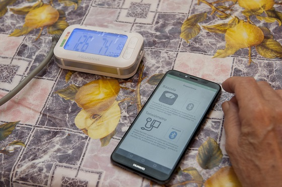 Solución móvil para pacientes con insuficiencia cardiaca crónica