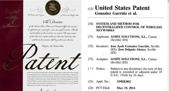Galgus patenta en Estados Unidos su tecnología para Wi-Fi.