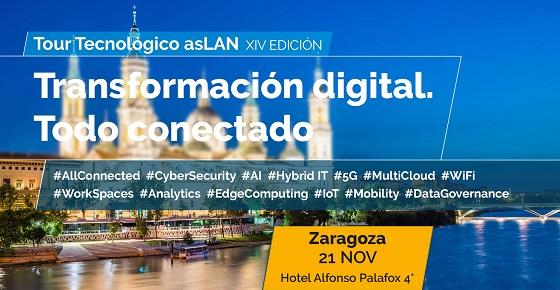 Zaragoza cierra el ciclo de Foros del Tour Tecnológico @asLAN 2019